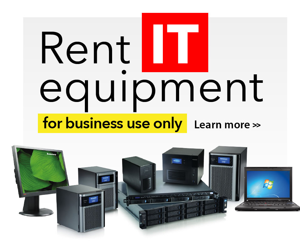 Rent IT equipment for business. Click to learn more.