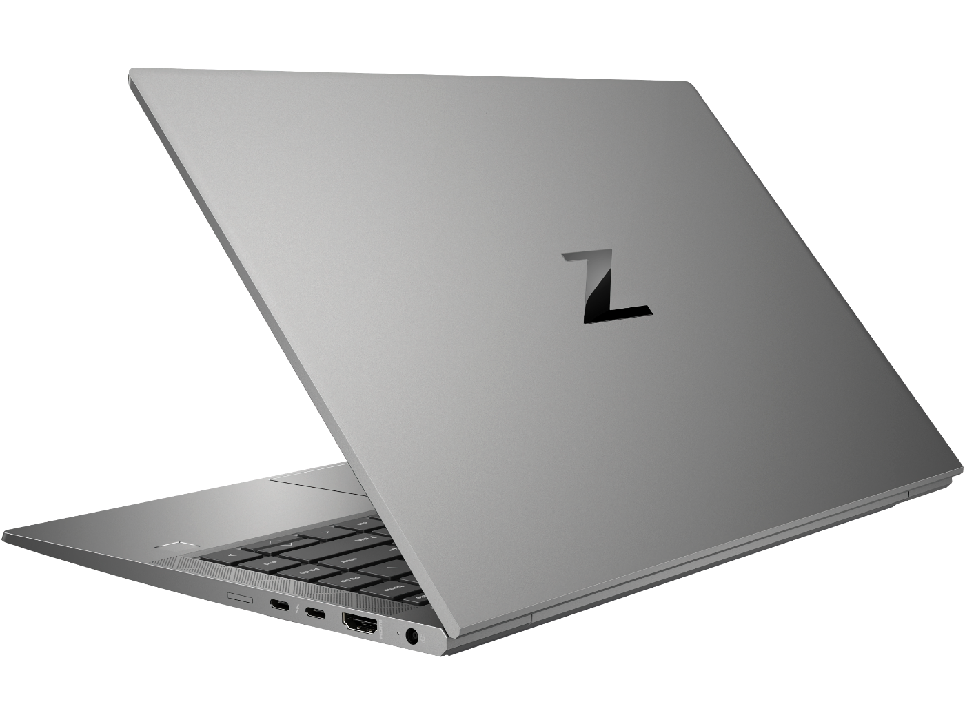 HP ZBook Firefly laptop rear-facing